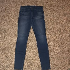 7 for all Mankind stretch skinny jeans